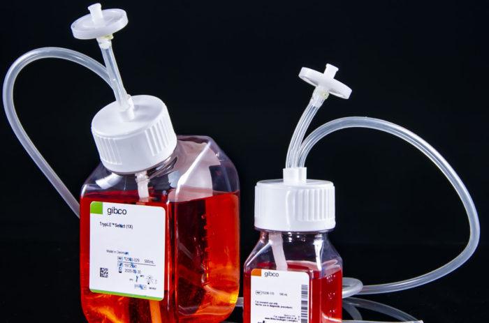 Cap2v8 for Gibco Media Bottles